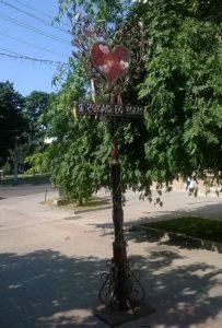 памятник столб